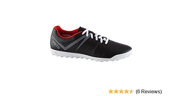 3ff64ed33 Buy KIPSTA FIRST 100 ADULT ASTRO TURF TRAINERS - BLACK (EU 44) Online at  Low Prices in India - Amazon.in