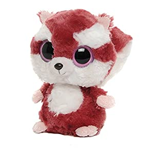 Aurora World YooHoo & Friends - Peluche Squirrel, 13 cm, Color Granate y Blanco 12018