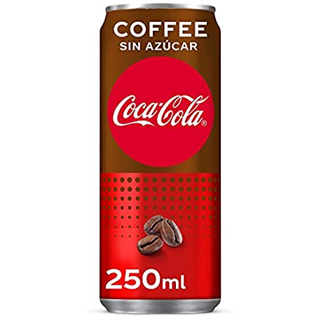 Coca Cola Zero Plus Coffee Refresco con gas de cola 250 ml Lata