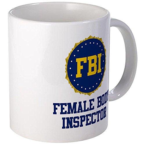 Body Inspector Tasse, keramik, Weiß, Größe S ()