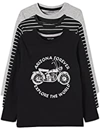 c572fd8f4b0cb Vertbaudet Lot de 3 T-Shirts garçon