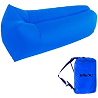 Inflatable Lounger Couch with Carry Bag Beach Lounger Air Sofa Inflatable Couch Bed Pool Float for Indoor/Outdoor Hiking Camping,Beach,Park,Backyard Waterproof Durable