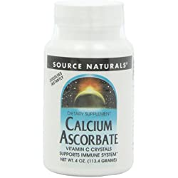 Source Naturals - Calcium Ascorbat, 1000 mg, 4 oz powder
