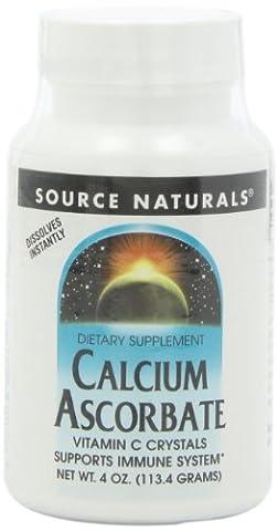 Source Naturals - Calcium Ascorbat, 1000 mg, 4 oz powder