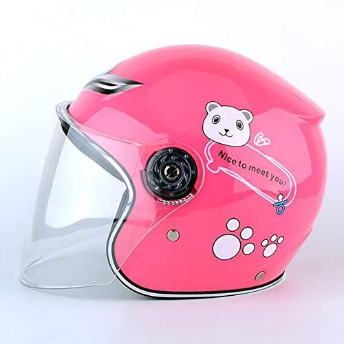 Sunzy Kinderfahrrad-Cartoon-Helm, insgesamt stoßfeste und atmungsaktive Kinderhelm für insgesamt...