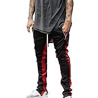 Gusspower Blusa de Manga Larga Sin Tirantes de Mujer, Camiseta Suelta Tops Patchwork de Dos Colores Otoño e Invierno de Gran tamaño