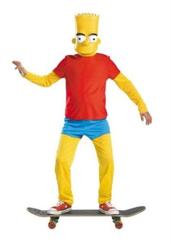 egenheiten DG34548G Bart Simpson Deluxe 10-12 (Bart Simpson Kinder Kostüm)