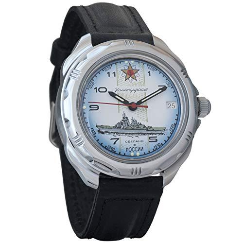 Vostok Komandirskie 2414/211428 - Reloj de Pulsera para Hombre, diseño Militar Ruso