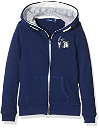 Tom Tailor Sweatjacke with Hood, Sweat-Shirt à Capuche Fille