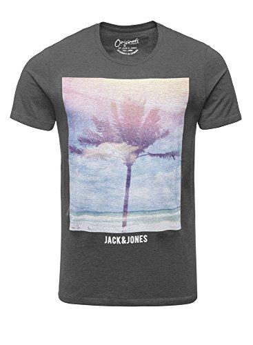 JACK & JONES Uomo Maglieria/T-Shirt jorCreek Grigio