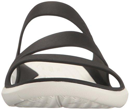 Crocs - Swiftwater Sandale Femmes schwarz - weiß