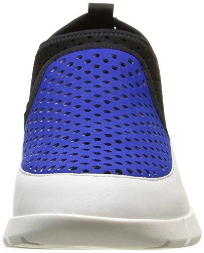 Calvin Klein Winona, Sneakers Hautes femme Bleu (Fbs/Neoprene Perf/Mini Hexa)