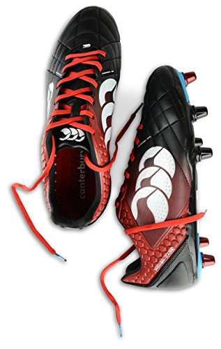 Canterbury Stampede Elite 8 Stud, Chaussures de Football Homme Black