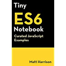 Tiny ES6 Notebook: Curated JavaScript Examples (Tiny Notebook Book 3) (English Edition)