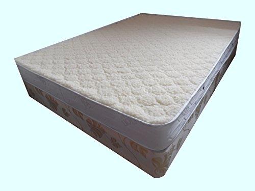 Diamond-Wool Ortho-Sleepy Memory Orthopädische Matratze - Merino Wolle, mittelhart Komfort, 90 x 200 cm -
