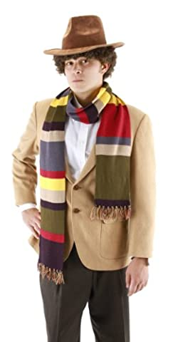 Costumes Doctor Who - S'enfuir Doctor Who The Doctor quatri-me -charpe