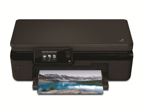 HP Photosmart 5520 e-All-in-One Tintenstrahl Multifunktionsdrucker (A4, Drucker, Scanner, Kopierer, Wlan, USB, 4800x1200) -