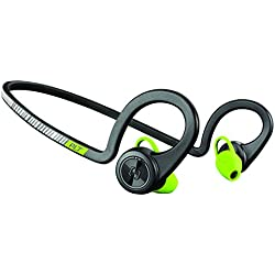 Plantronics BackBeat Fit II - Auriculares deportivos inalámbricos, color negro