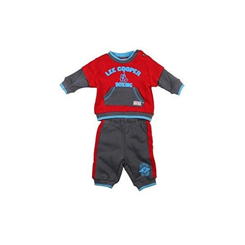Lee Cooper - ensemble deux pièces sweat pantalon - bébé garçon - rouge