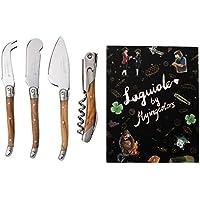 FLYINGCOLORS LAGUIOLE DE Couteau à Fromage avec Tire-Bouchon, avec boîte-Cadeau
