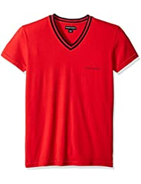 Armani tee-shirt m.courtes 6A525 RED - Rouge, XL