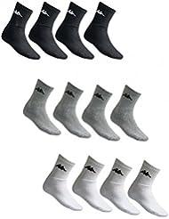 Kappa 9 Paar Tennis Socken Sportsocken