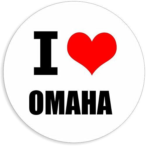 Omaha Tools (I love Omaha in 2 Größen erhältlich Aufkleber mehrfarbig Sticker Decal)