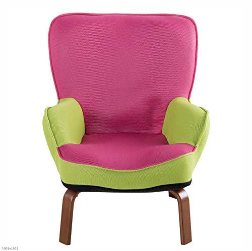 MOOMDDY Baby-Sofa niedliches kleines Sofa Single Mini-Lesesestuhl Junge Mädchen Kindergarten-Kinder-Scouch Freizeit Couch,Pink -