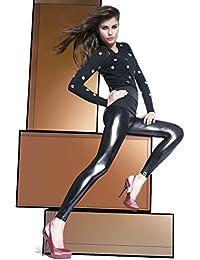 Bas azul Legging Mode Luisant/ajustados talla L negro talla S