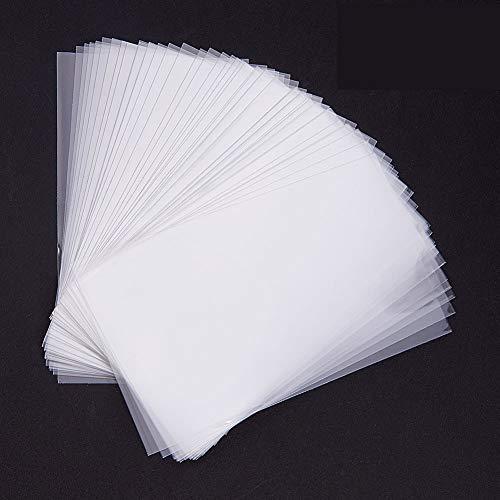 PandaHall Elite 600 Stück 10x6cm Klare Cellophan Taschen Cellophantüte Selbstklebende Dichtung Saures Tasche OPP Kunststoff Tasche für Bäckerei, Süßigkeit, Seife, Plätzchen