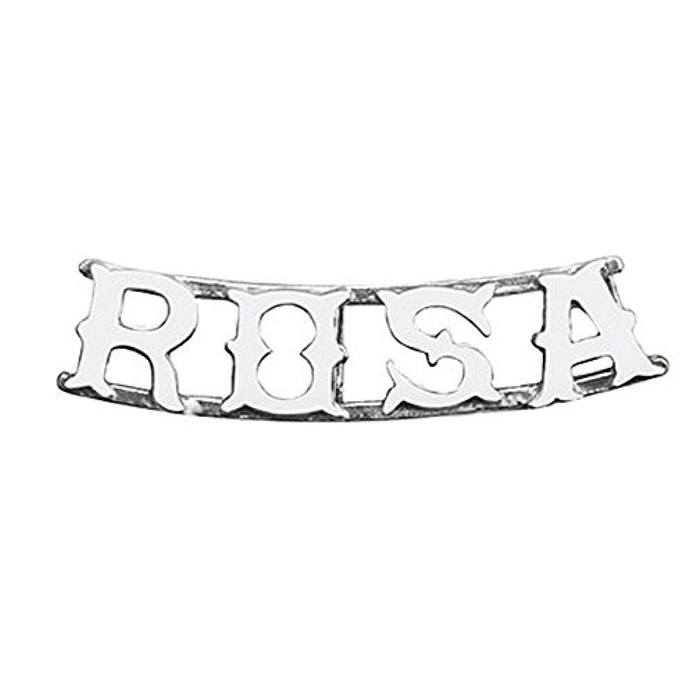 925m Silber Anhänger Law ROSA Name 4 Buchstaben [AB4074]