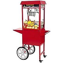 Royal Catering - RCPS-16E - Máquina de palomitas de maíz - con carrito -