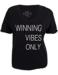 Original Retro Brand Women's Game Day Winning Vibes Only T-Shirt