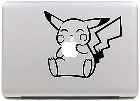 Vati Feuilles Art amovible Creative mignon Pikachu peau Decal Sticker