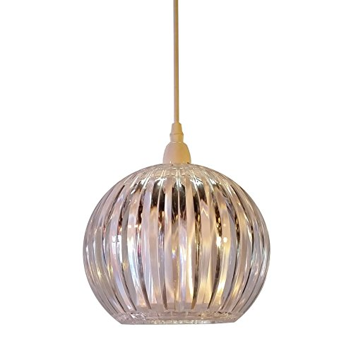 kliving-lancia-clear-acrylic-non-electric-pendant-ceiling-light-shade