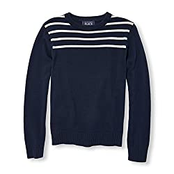 The Childrens Place Boys Sweater (2075841IV_Tidal_M (7/8))
