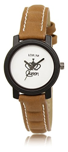 Vastrang Analog White Dial Women's Watch-LR209