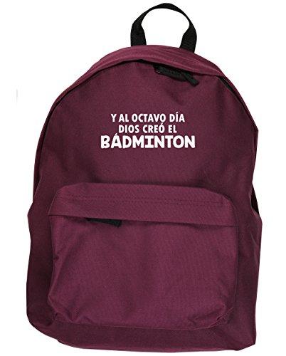HippoWarehouse Y Al Octavo Día Dios Creó El Bádminton kit mochila Dimensiones: 31 x 42 x 21 cm Capacidad: 18 litros