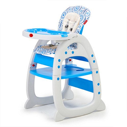 QUQU Chaise Haute Chaise À Manger Pour Bébé Chaise À Manger Multifonctionnelle Apprentissage , 2