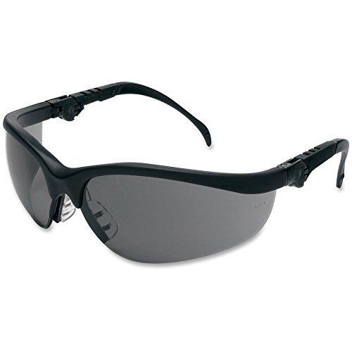 klondike-plus-safety-glasses-black-frame-light-blue-lens-by-crews