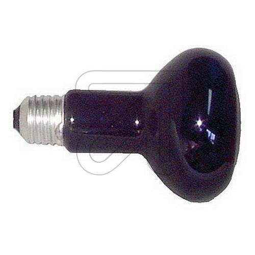 Glühbirne, Reflektor R95,75W, E27, schwarzes Licht