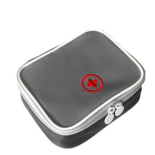Erste Hilfe Set,Lifesport Erste-Hilfe-Koffer First Aid Kit Notfalltasche Medizinisch Tasche Wasserdicht Tragbar Perfekt Design für Haus Auto Camping Jagd Reisen Natur und Sport (Grau) (Kinder-reise-erste-hilfe-kit)