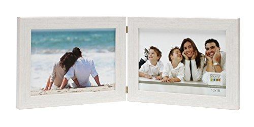 deknudt-frames-s41vf1-h2h-cadre-photo-diptyque-horizontal-resine-blanc-15-x-20-cm
