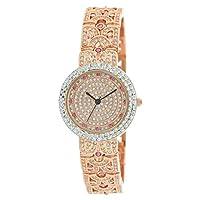 Phoenix Women's 22K Rose Gold Dress Watch - P21885-RRR