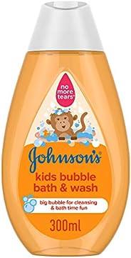 جونسون سائل استحمام وغسول فقاعات للصغار، 300 مل