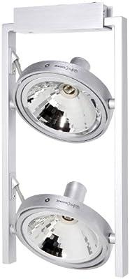 Philips 530624881 Spot 13 x 34 cm / 2 x 60 W / G9 / aluminium gebürstet von Philips bei Lampenhans.de