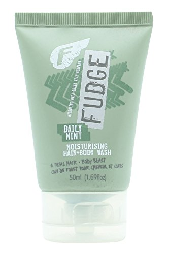 Fudge Daily Mint Moisturising Hair & Body Wash 50ml - Fudge Daily Mint