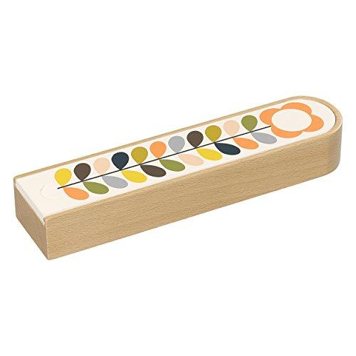 Orla Kiely ok116Holz Bleistift Box (Holz Box, Bleistift)