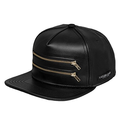 Cayler & Sons Uomo Cappellini / Snapback Cap Black Label Zipped nero Regolabile