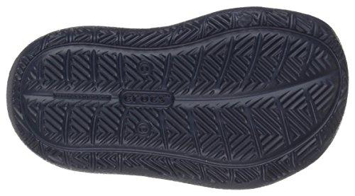 Crocs 204021, Chaussures à Lacets Oxford Garçon Bleu (Navy)